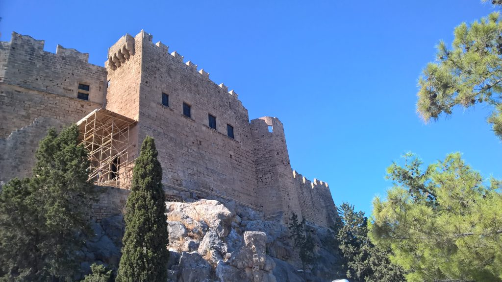Lindos Fortress